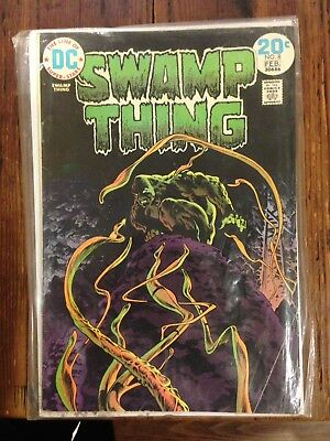 Swamp Thing #8 Bernie Wrightson