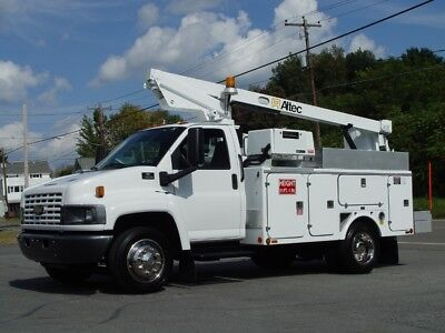 05 Chevy C4500 Bucket Truck *99,476 Orig,miles* A/c Fully Refurbished Super Lqqk