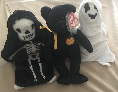 Halloween Beanie Babies TY Bundle