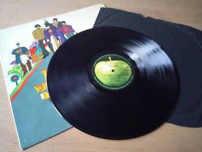 THE BEATLES YELLOW SUBMARINE COMPLETE ORIGINAL 1968 UK 1st PRESS STEREO LP