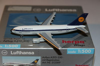 Herpa Wings Lufthansa Airbus A310-200 1:500 OVP
