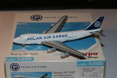 Herpa Wings Polar Air Cargo Boeing 747-200F 1:500 OVP