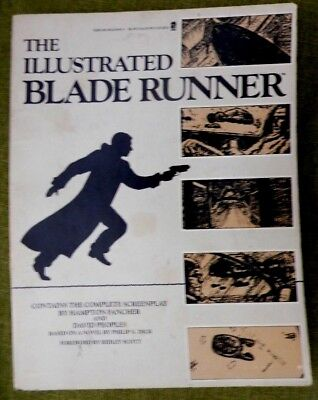 THE ILLUSTRATED BLADE RUNNER Hampton Fancher, David Peoples COMPLETE SCREENPLAY