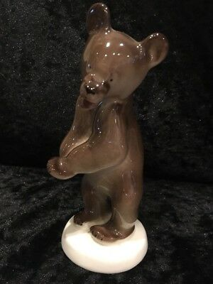 Porcelain Brown Bear