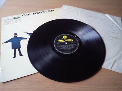 THE BEATLES HELP COMPLETE ORIGINAL 1965 UK 1st PRESS MONO LP