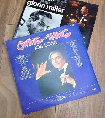 2 Lp's Joe Loss Swing Is The Thing, & Joe Loss Plays Glen Miller