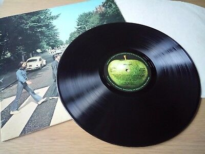 THE BEATLES ABBEY ROAD COMPLETE ORIGINAL 1969 UK 1st PRESS (NO HER MAJESTY) LP
