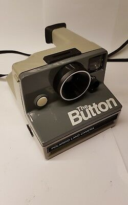 "Polaroid ""The Button"" SX-70 Instant Land Camera Working"