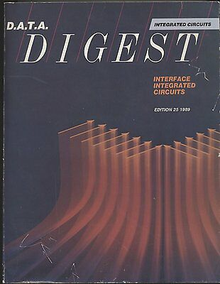 D.A.T.A. databook Interface ICs 1989 ADC DAC S/H Drivers switches synchro etc