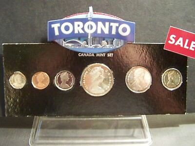 Diving Goose -1967 Canada  Proof-Like Set With A Diving Goose - Extremely Rare -