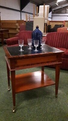 Pair of cocktail trolley