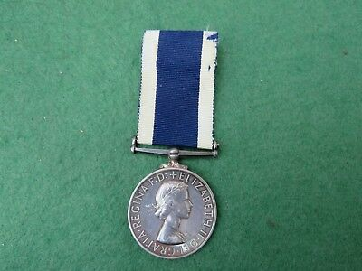 Royal Naval Long Service & Good Conduct Medal To Hms St Angelo Malta