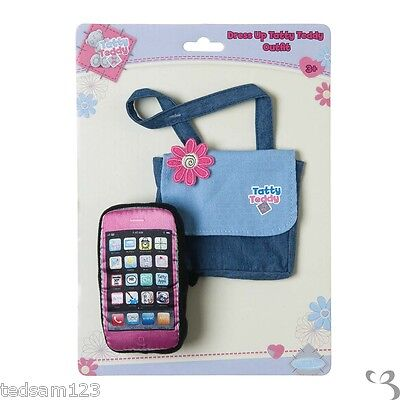 Me To You  -  Tatty Dress Up -  ' Bag & Mobile Phone '  - Brand New