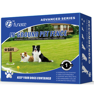 Underground Wired Pet Containment System: 100% Safe In-Ground Electric Dog Fence