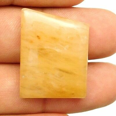 36.10 cts Natural Untreated Yellow Aventurine Fancy Loose Gemstone Cabochon