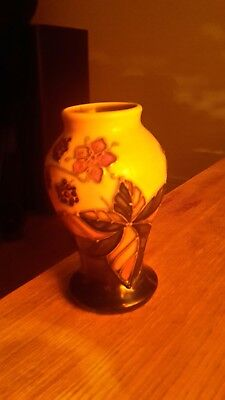 moorcroft small vase by emma bossons