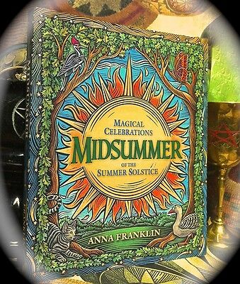 Midsummer: Summer Solstice Magical Celebrations ~ 1St 2002 Sc ~ Pagan Wiccan
