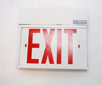 Big Beam Emergency Systems 2EXP 120V-30W-60Hz Emergency Exit Sign Light