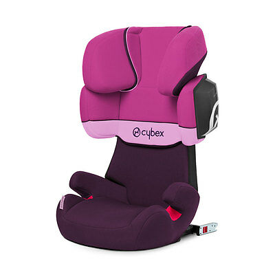 Baby car seat group 2/3 15-36 kg SOLUTION X2-FIX Purple Rain purple Cybex