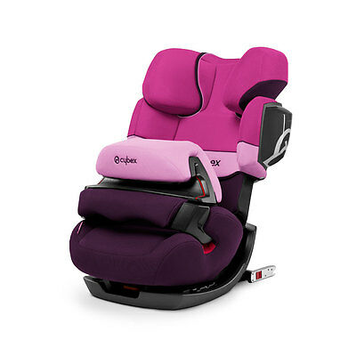 Car seat group 1/2/3 Kg. 9-40 PALLAS 2-FIX Purple Rain purple Cybex