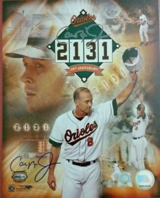 Cal Ripken Jr Baltimore Orioles signed autographed Ironclad MLB authentic 8x10