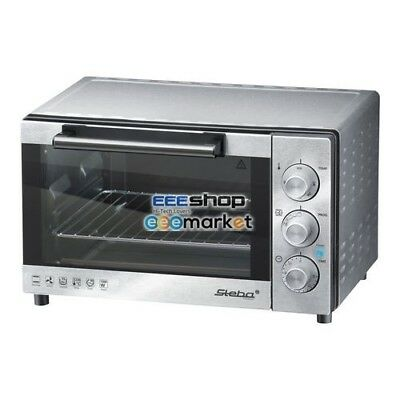 STEBA KB 19 Electric 19L 1300W Stainless steel Grill and bake oven KB 19 - 42900
