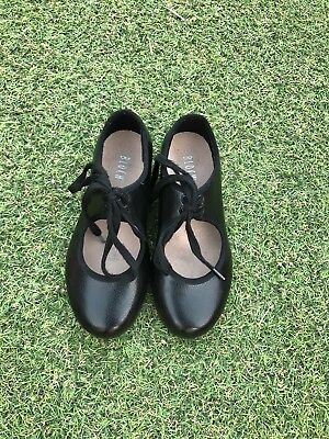 Kids Girls Black Tap Shoes Bloch Size UK 9.5 Very Good Condition
