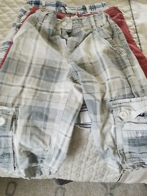 3 pairs of boys size 16 shorts