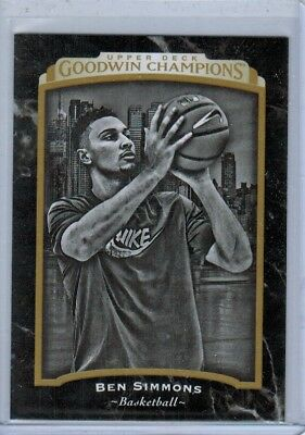 2017 Upper Deck Goodwin Champions Black and White #126 Ben Simmons