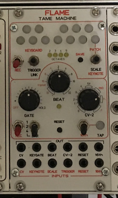 Flame Tame Machine Modular Synth