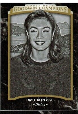 2017 Upper Deck Goodwin Champions Black and White #139 Wu Minxia