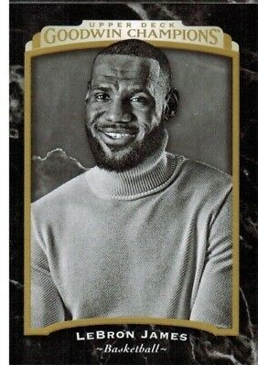 2017 Upper Deck Goodwin Champions Black and White #140 LeBron James
