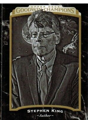2017 Upper Deck Goodwin Champions Black and White #150 Stephen King