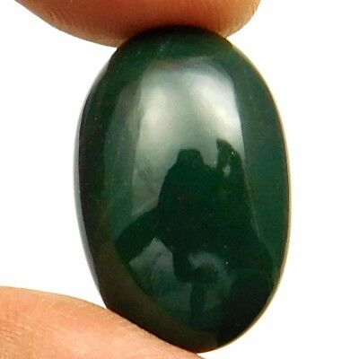 18.10 cts Natural Untreated Beautiful Bloodstone Gemstone Oval Loose Cabochon