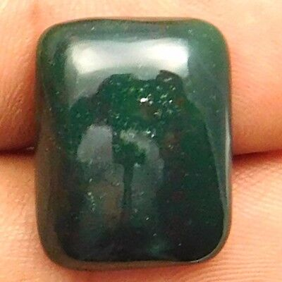 17.10 cts Natural Untreated Beautiful Bloodstone Gemstone Octagon Loose Cabochon
