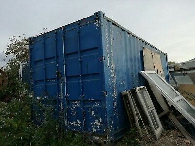 20 ft shipping container Barry Island