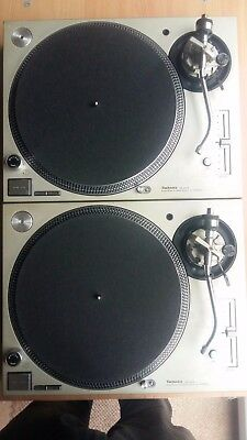2 x Technics SL-1200 MK5 Pair - Working Perfectly