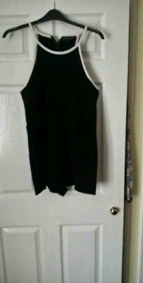 River island playsuit size 18