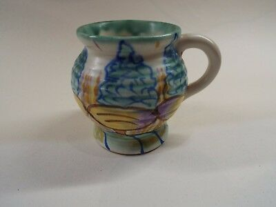 MATTONA WARE Hand Painted Small Cup 1930s Price Bros