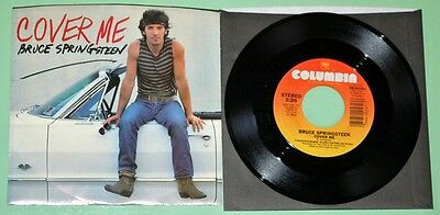 Bruce Springsteen - Cover Me - US 7""