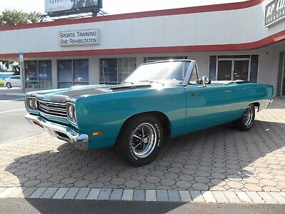 1969 Plymouth Road Runner  1969 Plymouth Roadrunner Convertible