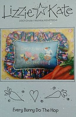 Lizzie Kate Every Bunny Do the Hop Easter Counted Cross Stitch Graph