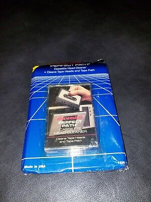 DISCWASHER Perfect Path Cassette Head Cleaner 1985 New sealed