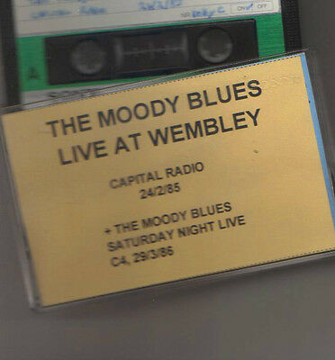 The Moody Blues Live At Wembley 24/2/85  Sony Cassette Tape