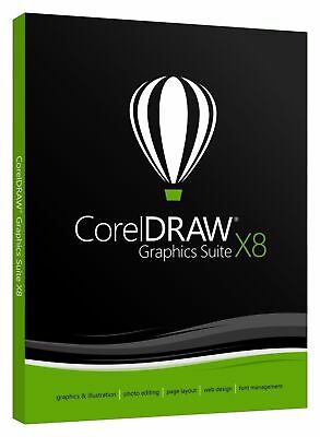 Genuine CorelDRAW Graphics Suite X8 Limited Offer ALL FEATURES INCLUDED