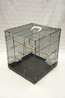 "18x19x20"" Heavy Duty Folding Bird Parrot Travel Cage Carrier"