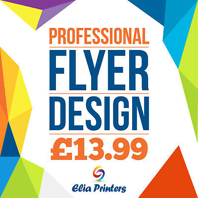 Professional Design Flyer/Leaflets Bespoke Designs A5, A6, DL Double Sided