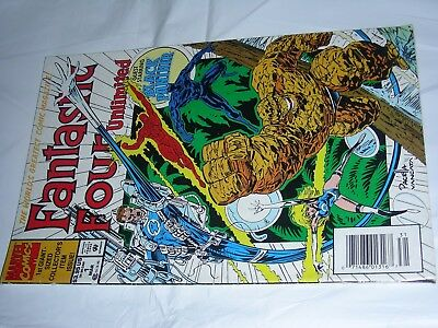Fantastic Four Unlimited #1 First Issue One Marvel 1993