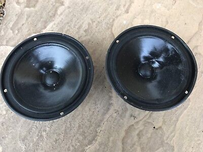 Mission Model 700 Leading Edge British Hifi Speakers Driver Units Pair 8 Inch