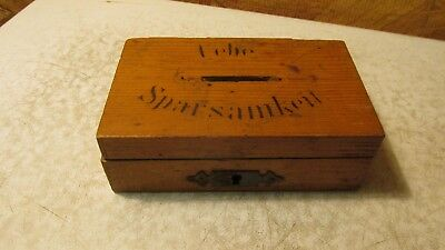 Antique Wood Scandinavian Wood Box